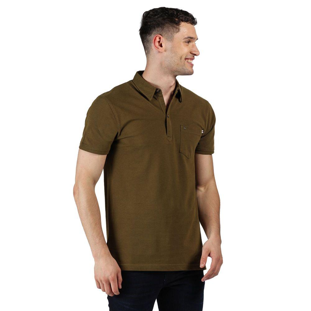 Regatta Mens Barley Cotton Casual Polo Shirt