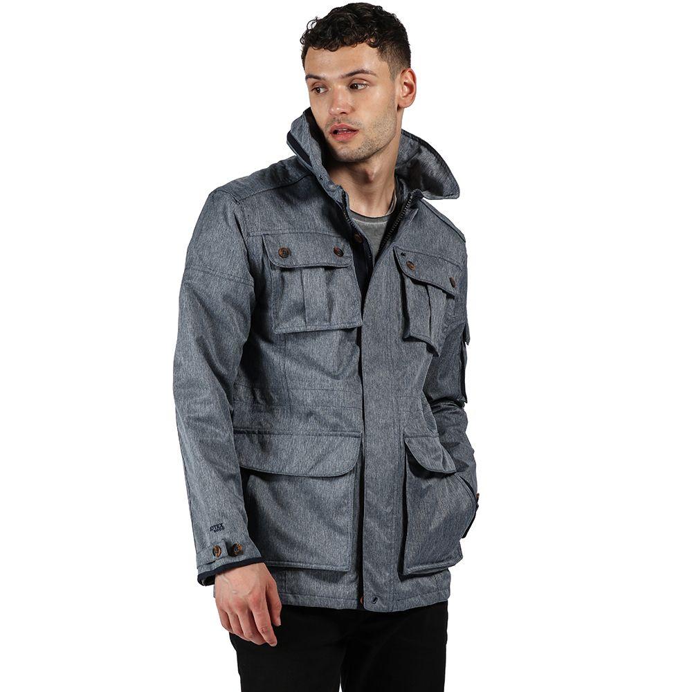 Regatta Mens Elmore Waterproof Breathable Durable Jacket