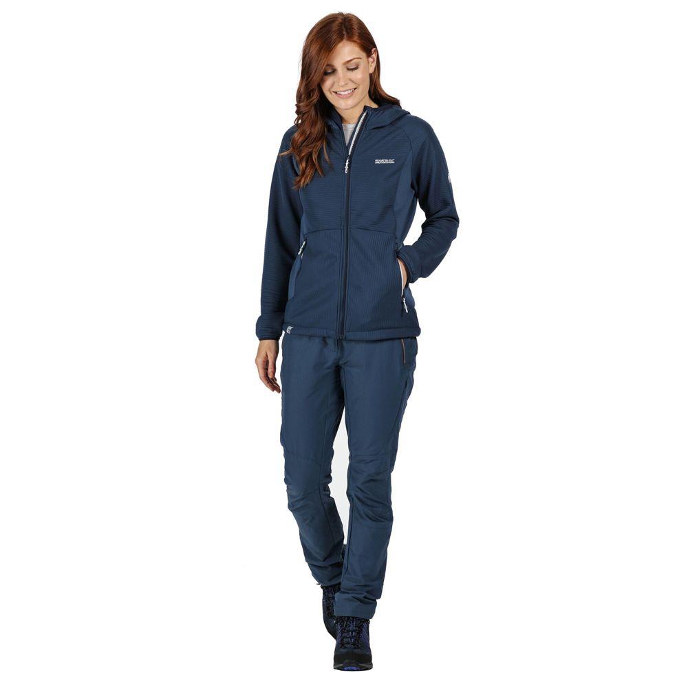 Regatta Womens Terota Full Zip Hooded Stretchy Sweater