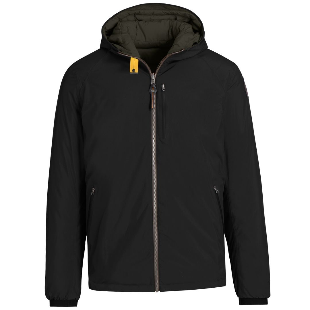 Parajumpers Reversible Black and Green Jacket
