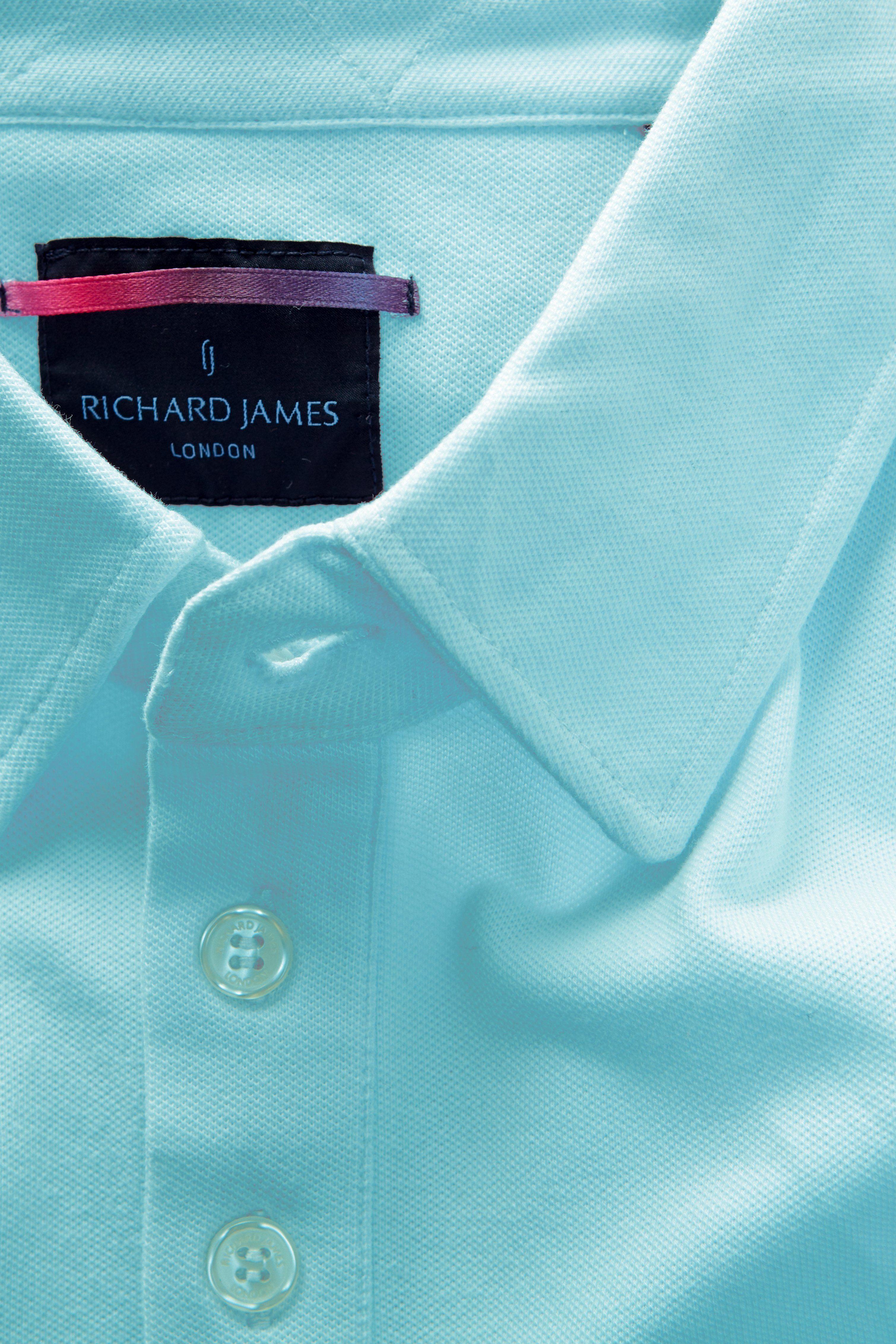 Long Sleeve 3 Button Pique Polo