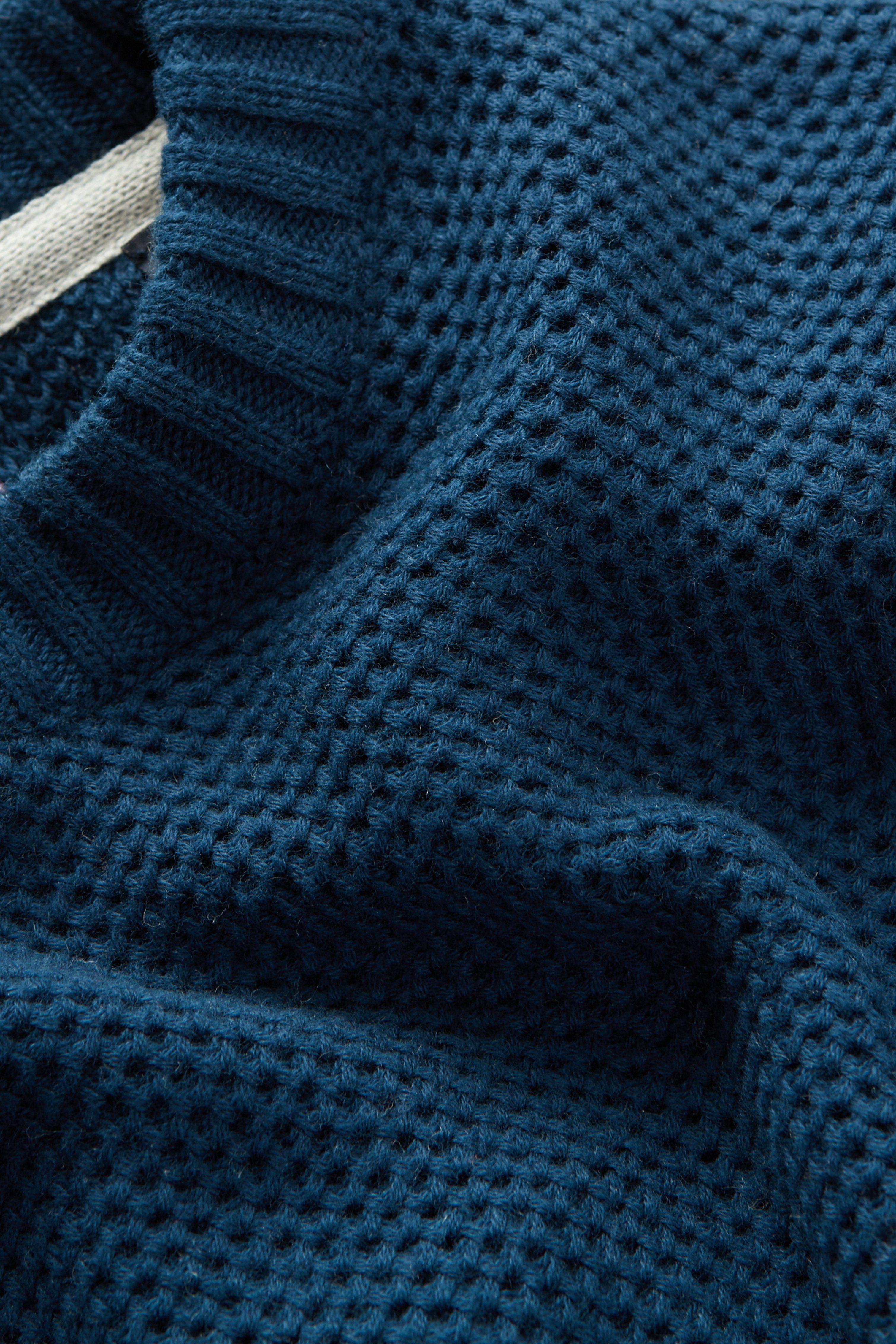 Textured Knit Crew