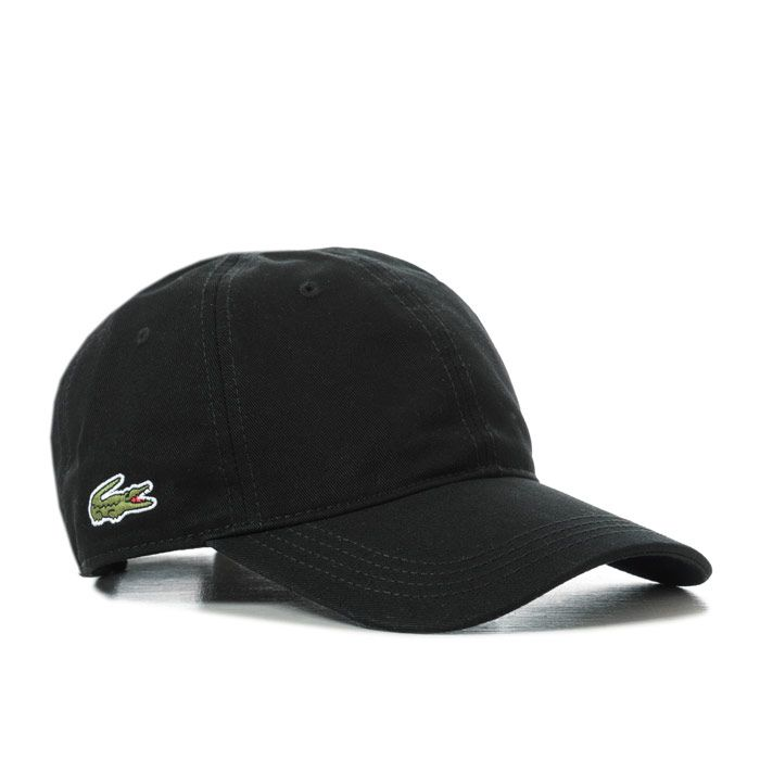 Lacoste Baseball Cap in Black
