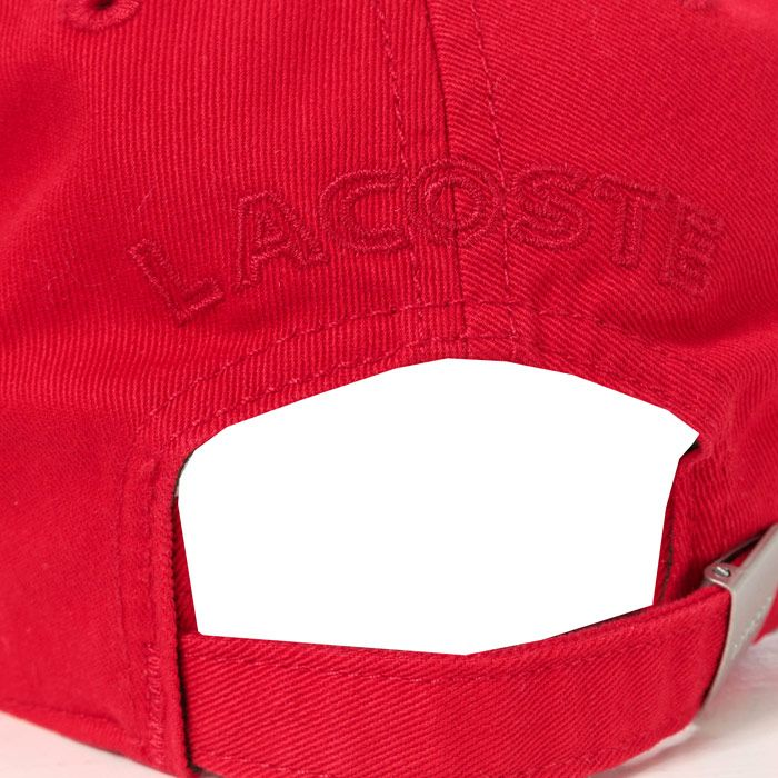 Lacoste Baseball Cap in Red