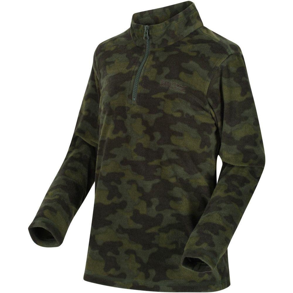 Regatta Boys & Girls Lovely Jubblie Half Zip Fleece Top