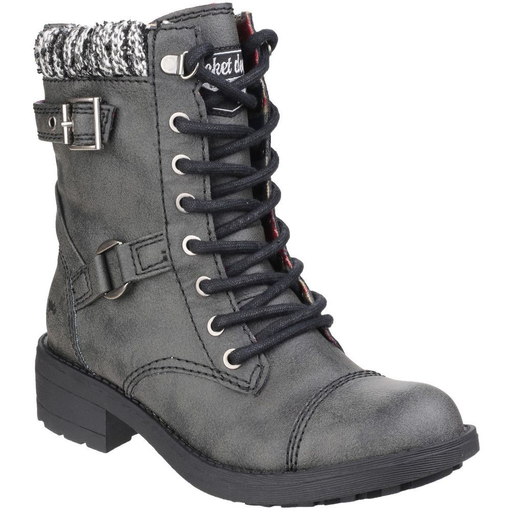 Rocket Dog Womens/Ladies Thunder Lace up Casual Faux Leather Boots