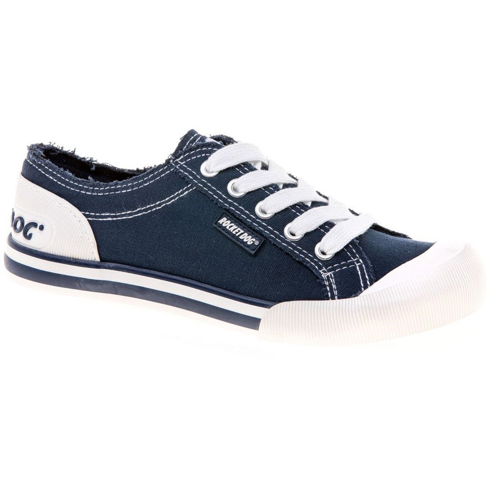 Rocket Dog Womens/Ladies Jazzin Canvas Lace Up Casual Summer Trainers