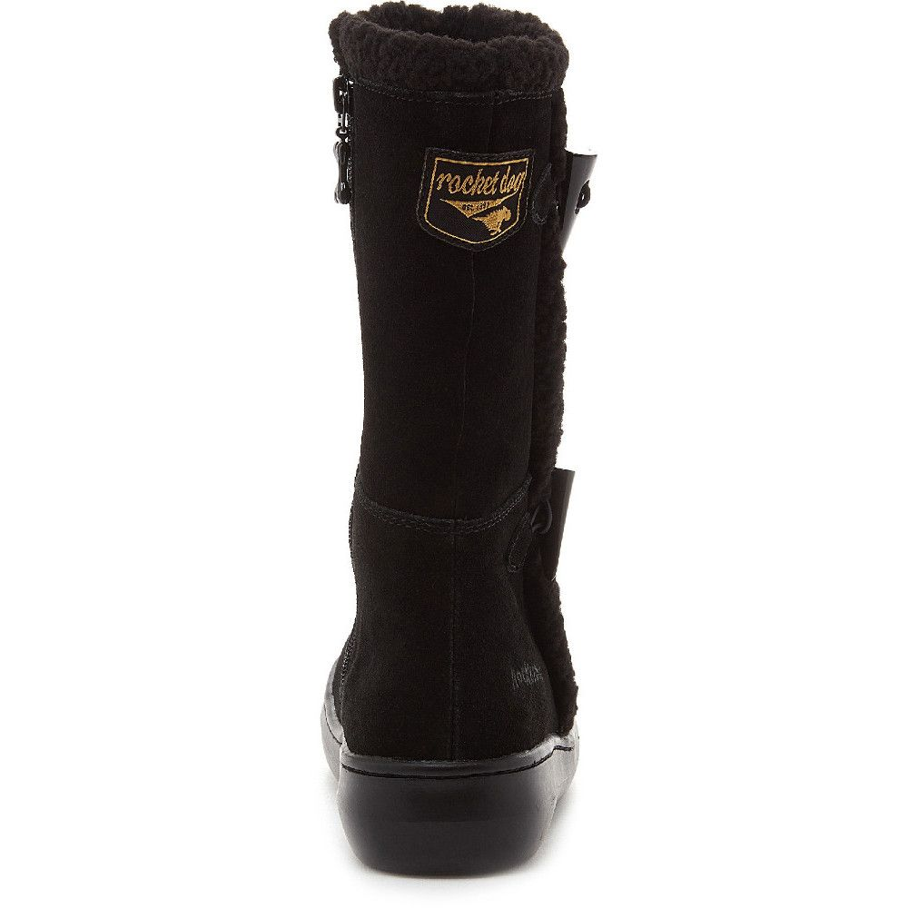 Rocket Dog Womens Slope Mid Calf Warm Lined Winter Boots