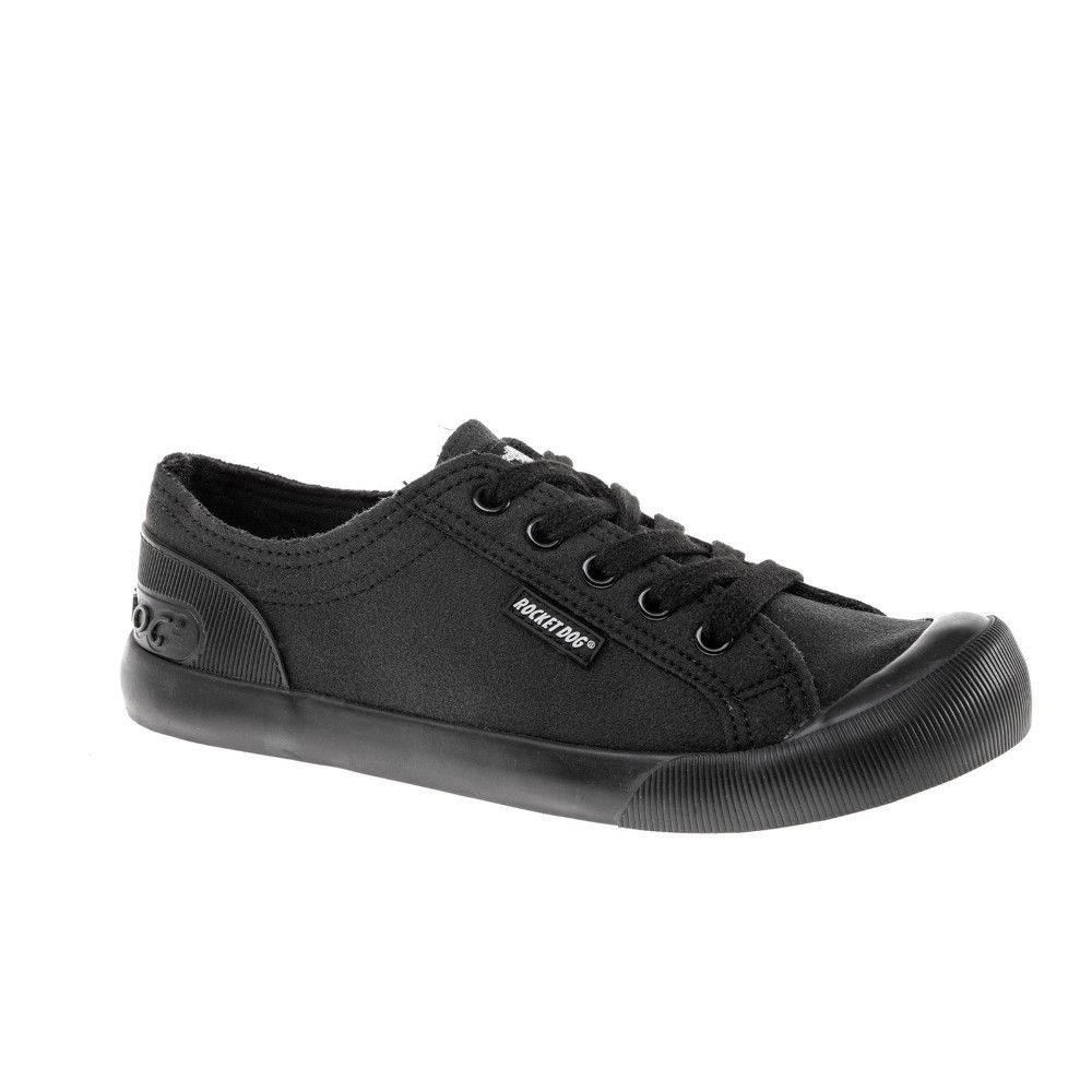 Rocket Dog Womens Jazzin Canvas Fable Lace Up Trainers