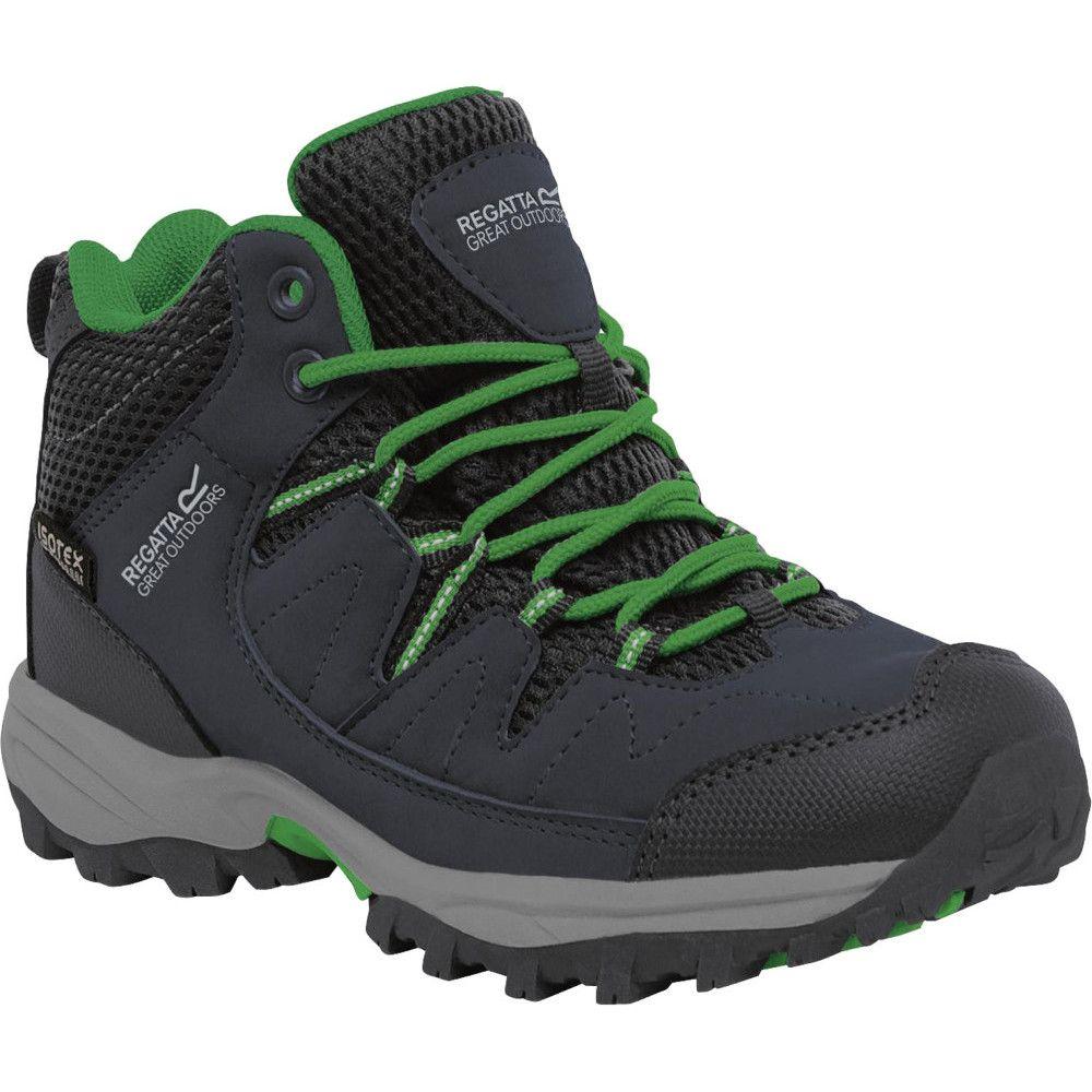 Regatta Boys Holcombe Mid Junior Waterproof Breathable Walking Boots
