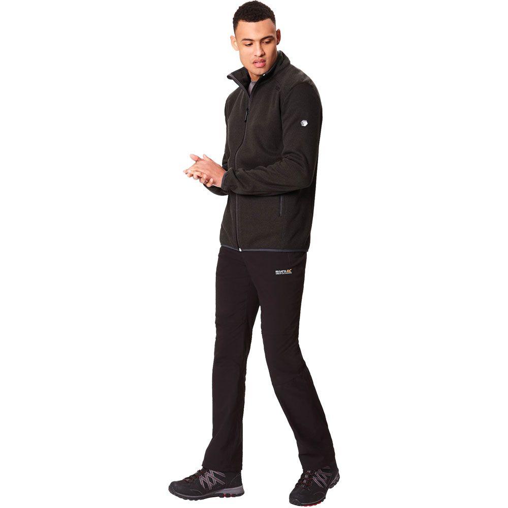 Regatta Mens Torrens Two Tone Polyester Full Zip Fleece Jacket Top