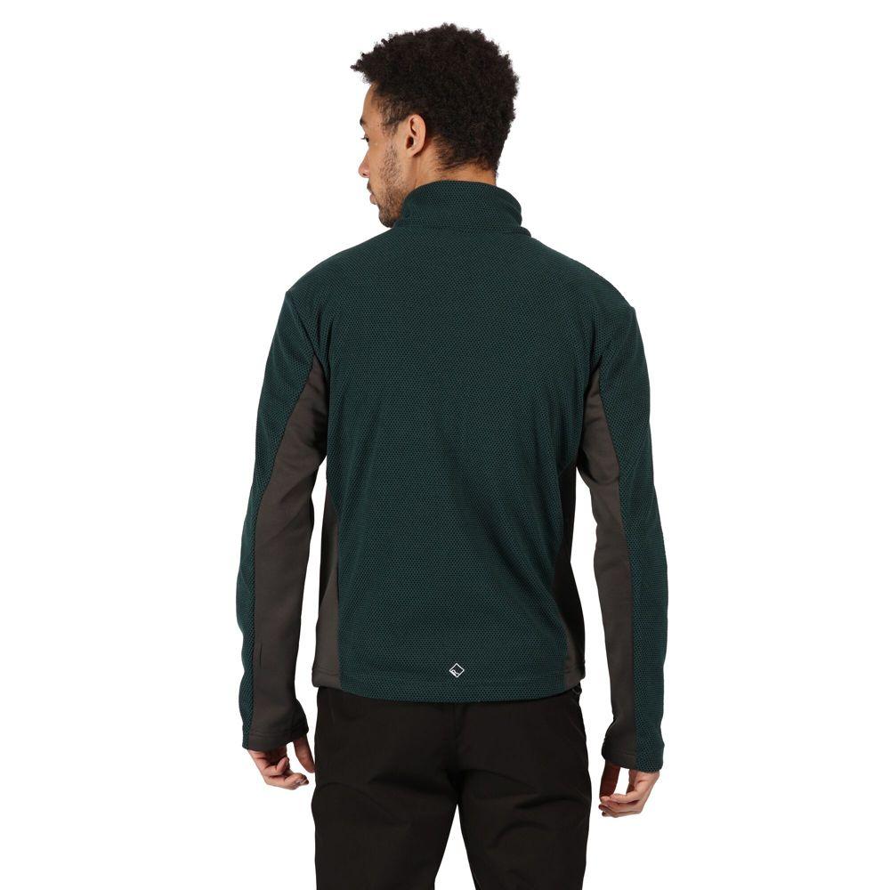 Regatta Mens Highton Full Zip Two Tone Fleece Jacket