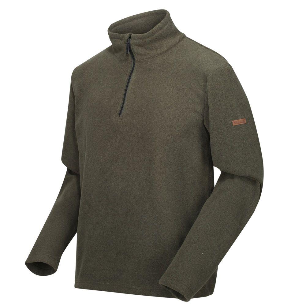 Regatta Mens Edley Half Zip Two Tone Fleece Jacket