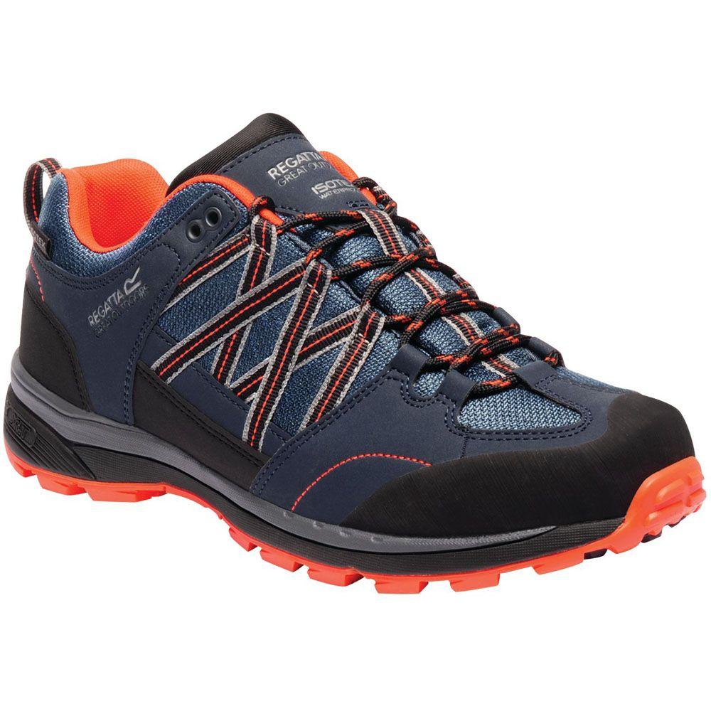Regatta Mens Samaris Low II Waterproof Seam Sealed Walking Shoes
