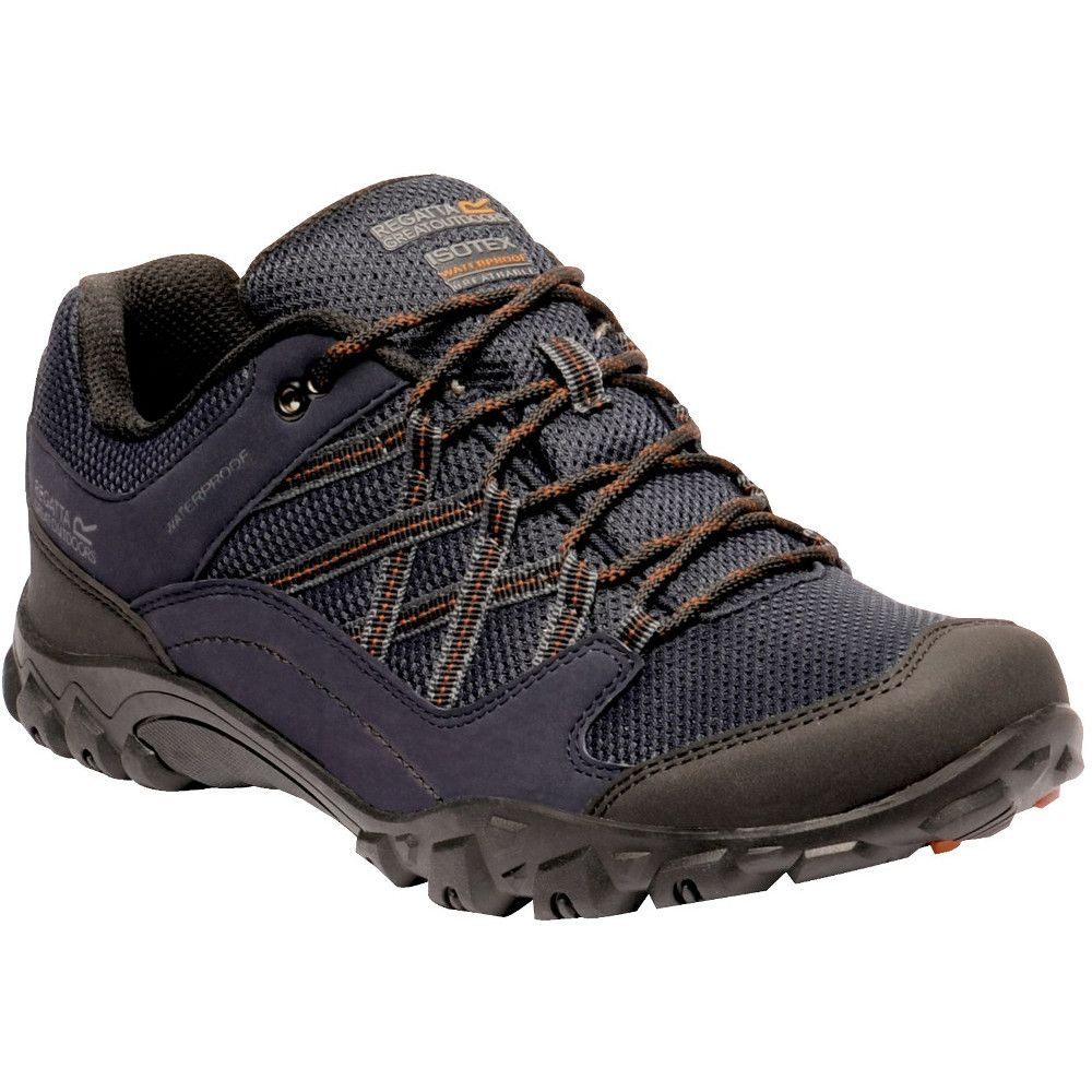 Regatta Mens Edgepoint III Waterproof Lace Up Walking Shoes