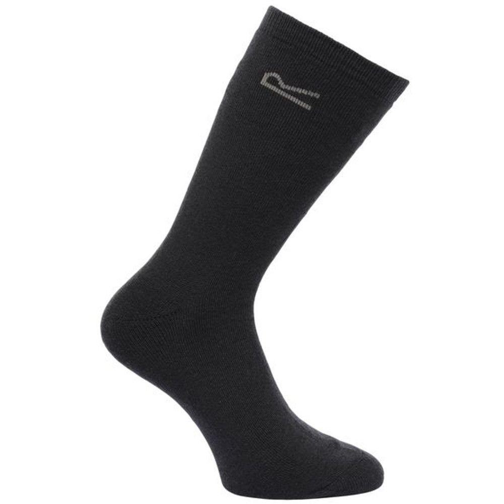 Regatta Mens 5pk Warm Thermal Durable Everyday Walking Socks
