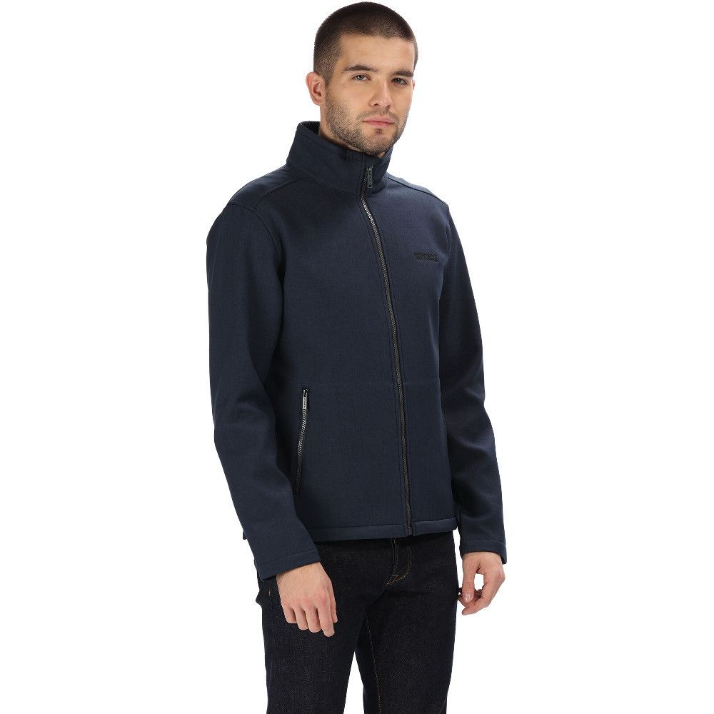 Regatta Mens Cronan Warm Backed Softshell Fleece Jacket