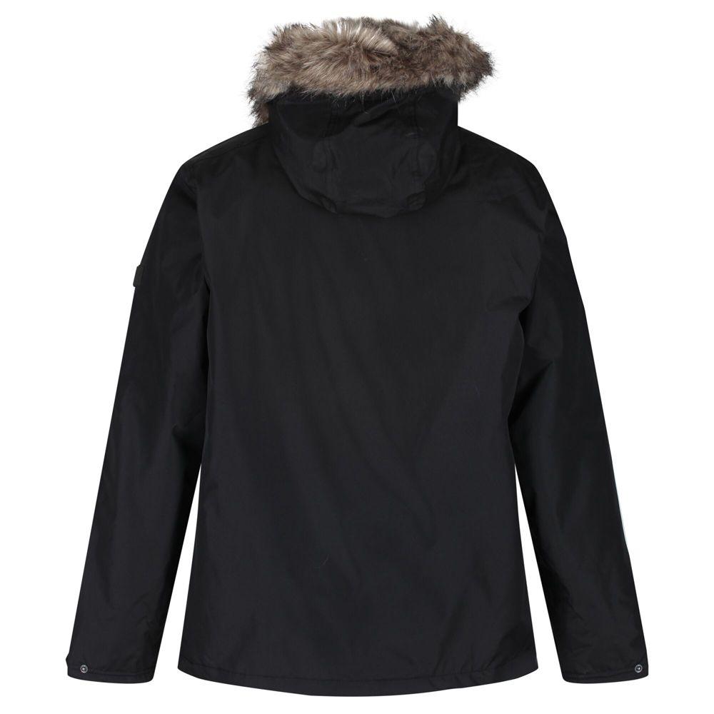 Regatta Mens Haig Waterproof Insulated Hooded Parka Jacket
