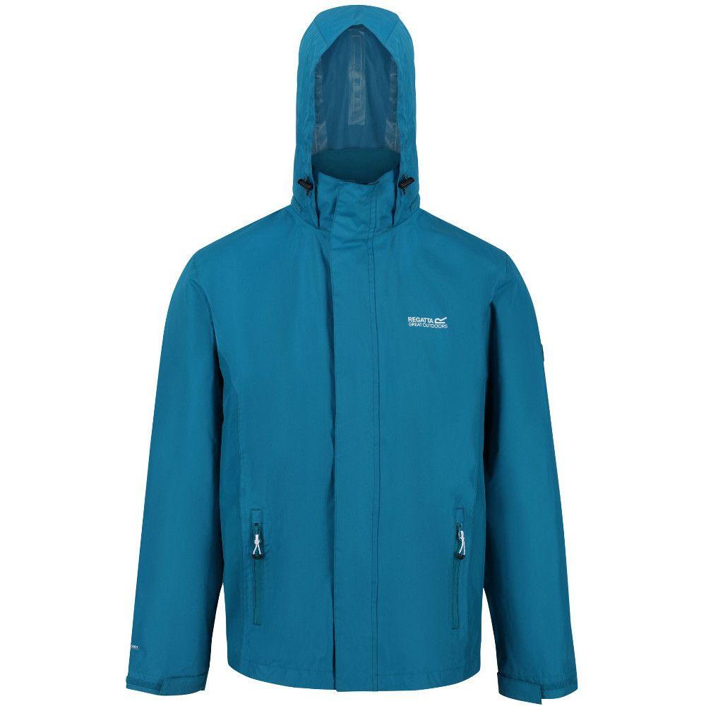 Regatta Mens Matt Durable Taped Seam Hydrafort Waterproof Coat Jacket