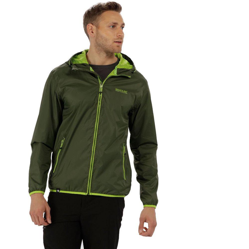 Regatta Mens Dangelo II Waterproof Lightweight Durable Jacket Coat