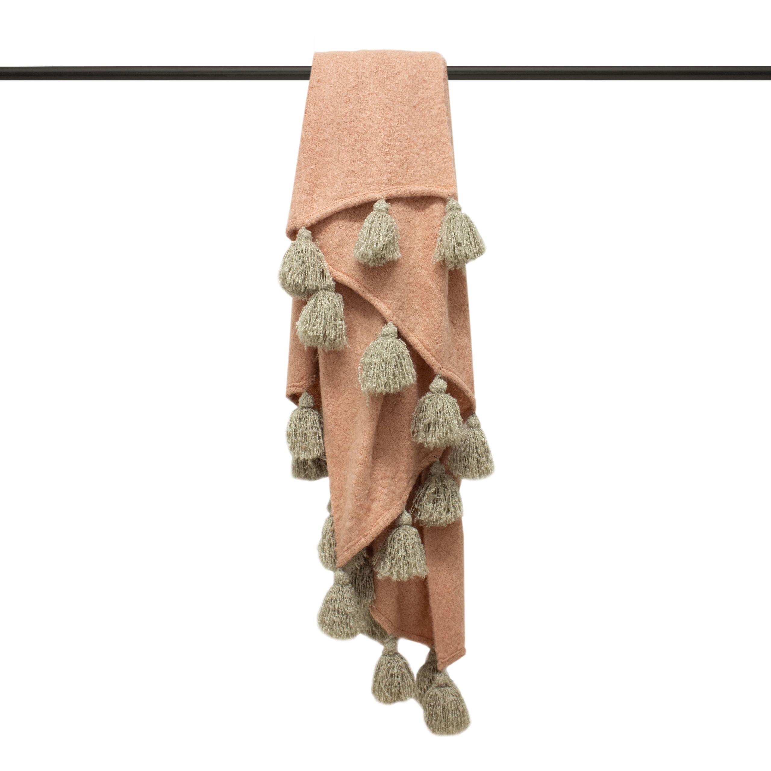 Romily 130X180 Throw Blush/Natur