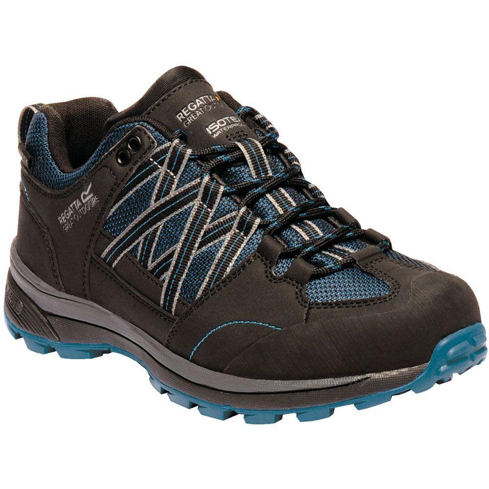 Regatta Womens/Ladies Samaris Low Waterproof Seam Sealed Walking Shoes