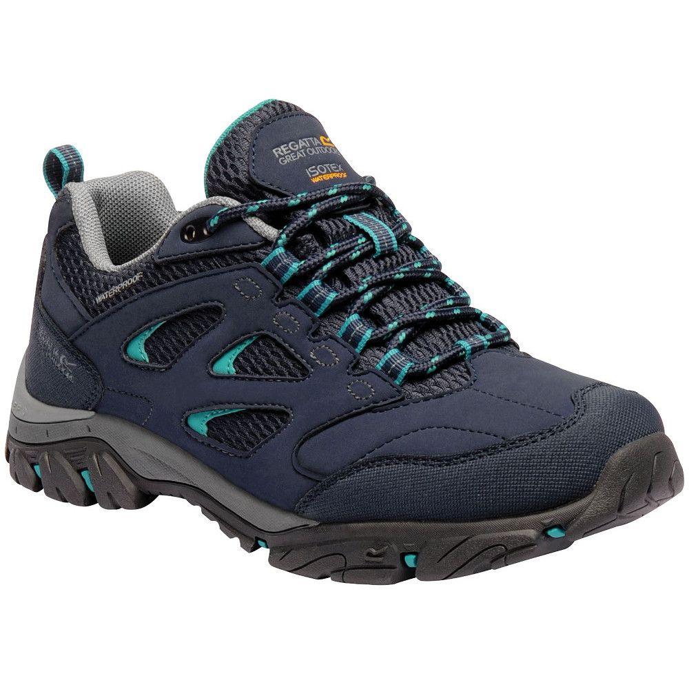 Regatta Womens/Ladies Holcombe IEP Low Waterproof Fabric Walking Shoes