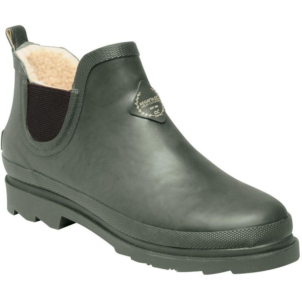 Regatta Womens Harper Cosy Fur Lined Anlke Wellington Boots