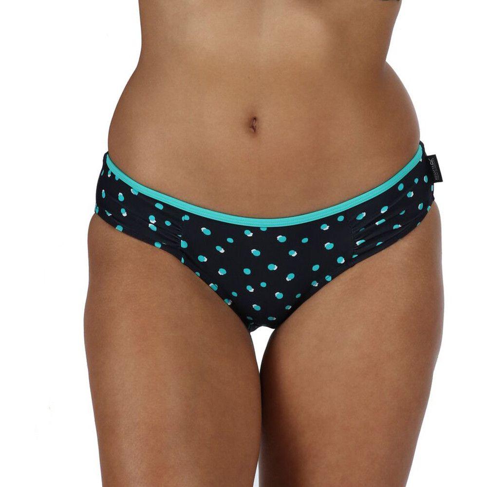 Regatta Womens/Ladies Aceana Bikini Brief Ruch Detail Swimwear Bottoms