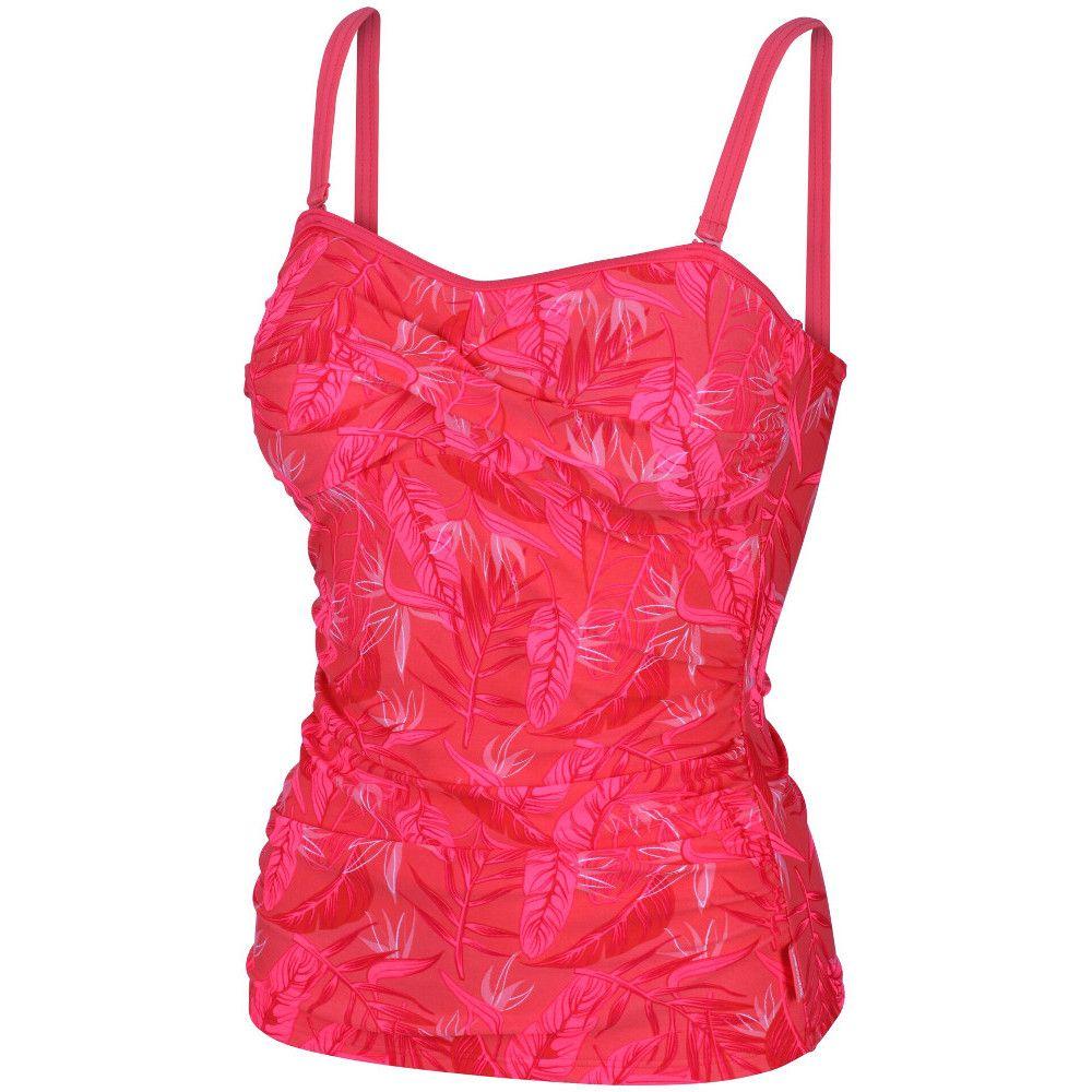 Regatta Womens/Ladies Aceana II Soft Touch Lightly Padded Tankini Top
