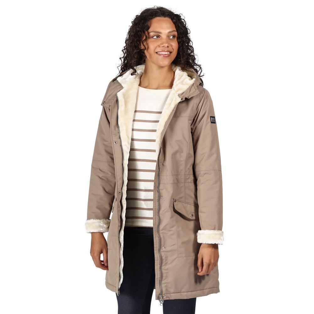 Regatta Womens Rimona Waterproof Insulated Parka Coat Jacket