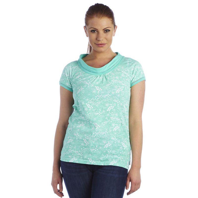 Regatta Womens Seasky T Shirt Brown