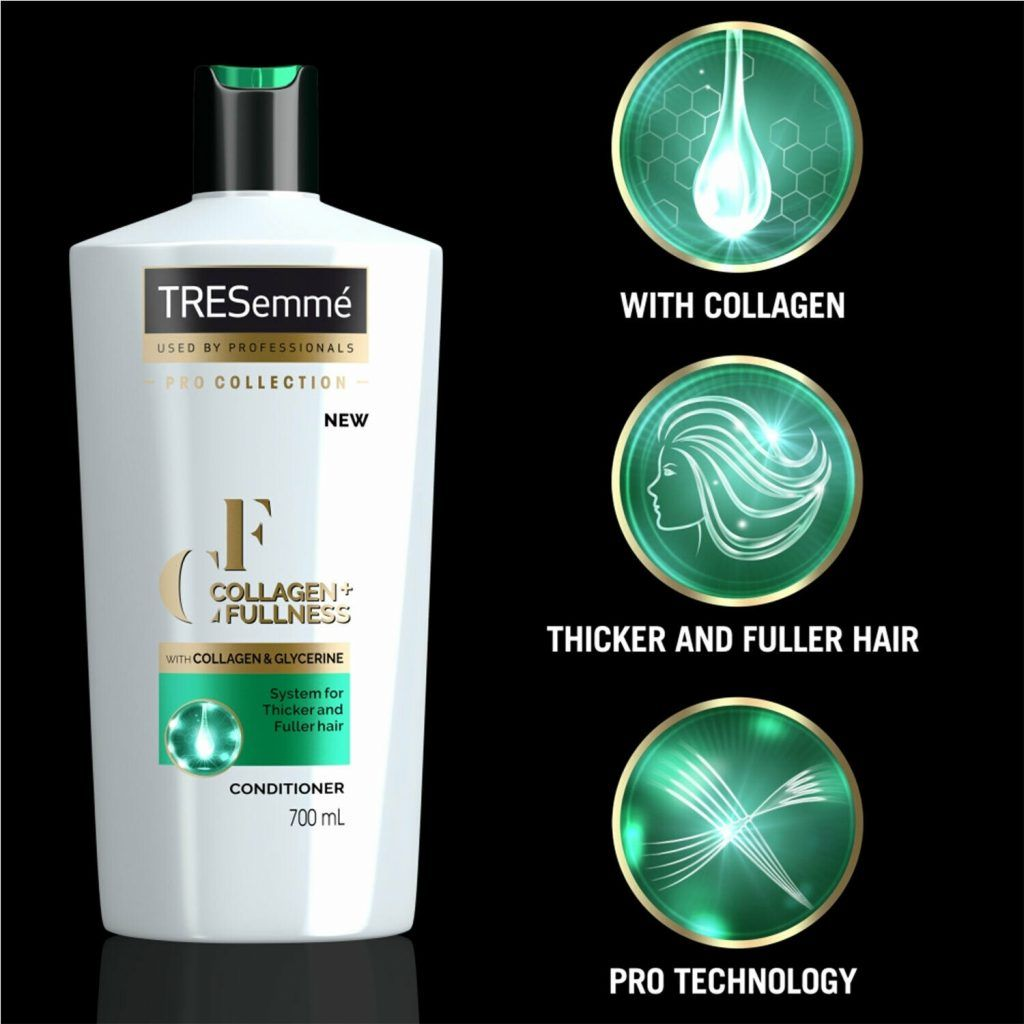 TRESemme Collagen + Fullness Shampoo Pack of 2 & Conditioner Pack of 2, 700ml