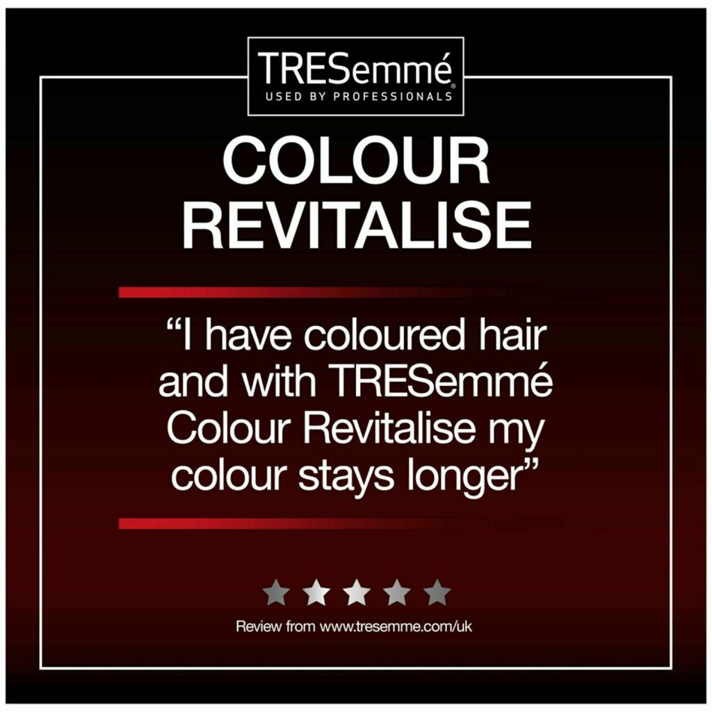 TRESemme Colour Revitalise Protection Shampoo Pack of 2 & Conditioner Pack of 2, 900ml