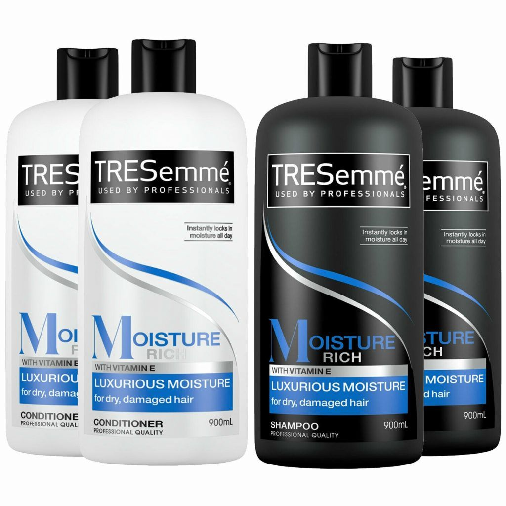 TRESemme Luxurious Moisture Rich Pack of 2 Shampoo & Conditioner Pack of 2, 900ml