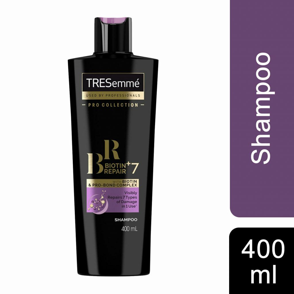 TRESemme Biotin Repair+7 Shampoo and Conditioner, 400ml & Mask 300ml
