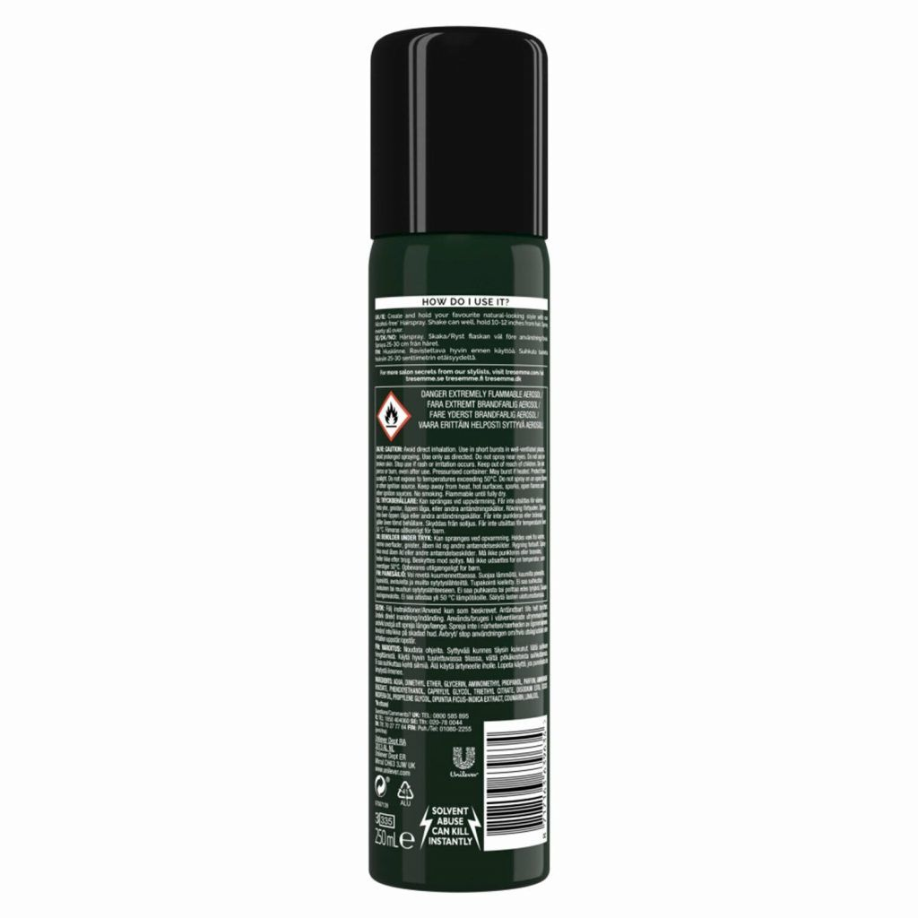TRESemme Botanique Natural Hold Hairspray, Pack of 3, 250ml