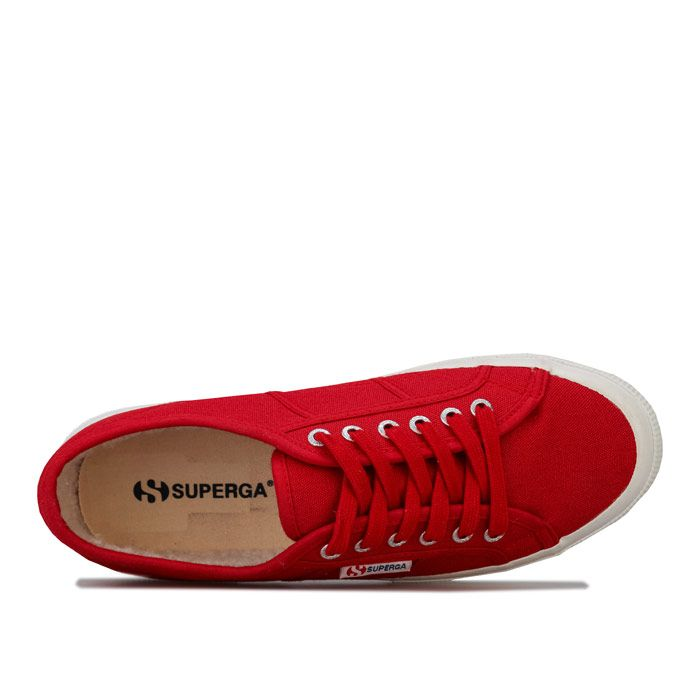 Women's Superga 2750 Cobinu Classic Pumps in Red