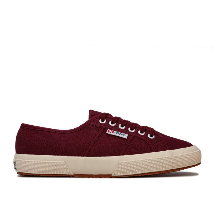 Women's Superga 2750 Cobinu Classic Pumps in Burgundy