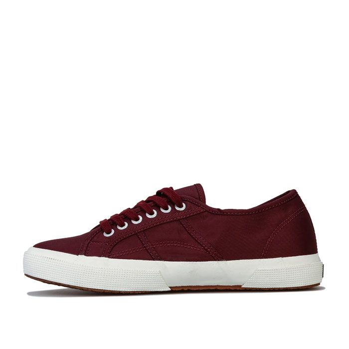 Men's Superga 2750 Cobinu Classic Pumps in Burgundy