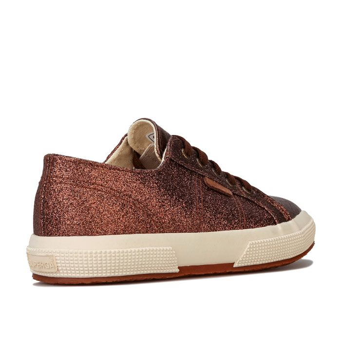 Girl's Superga Children 2750 Cotu Classic Pumps in Bronze