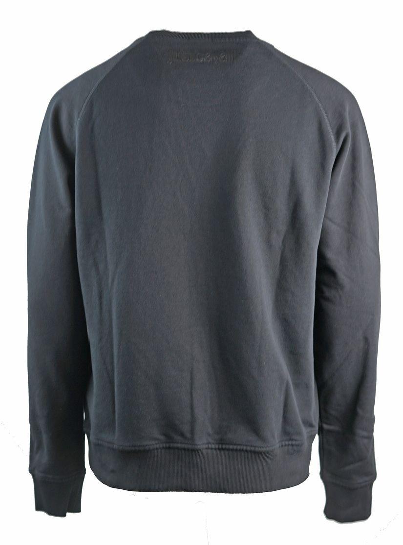 Just Cavalli Reverse Logo Black Sweatshirt