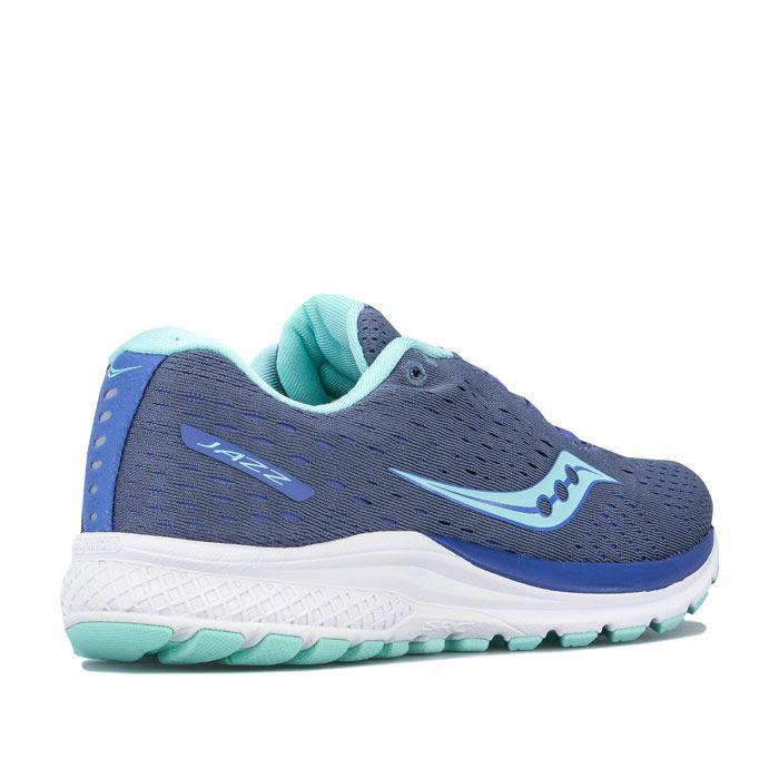Women's Saucony Jazz 20 Running Shoes in Grey