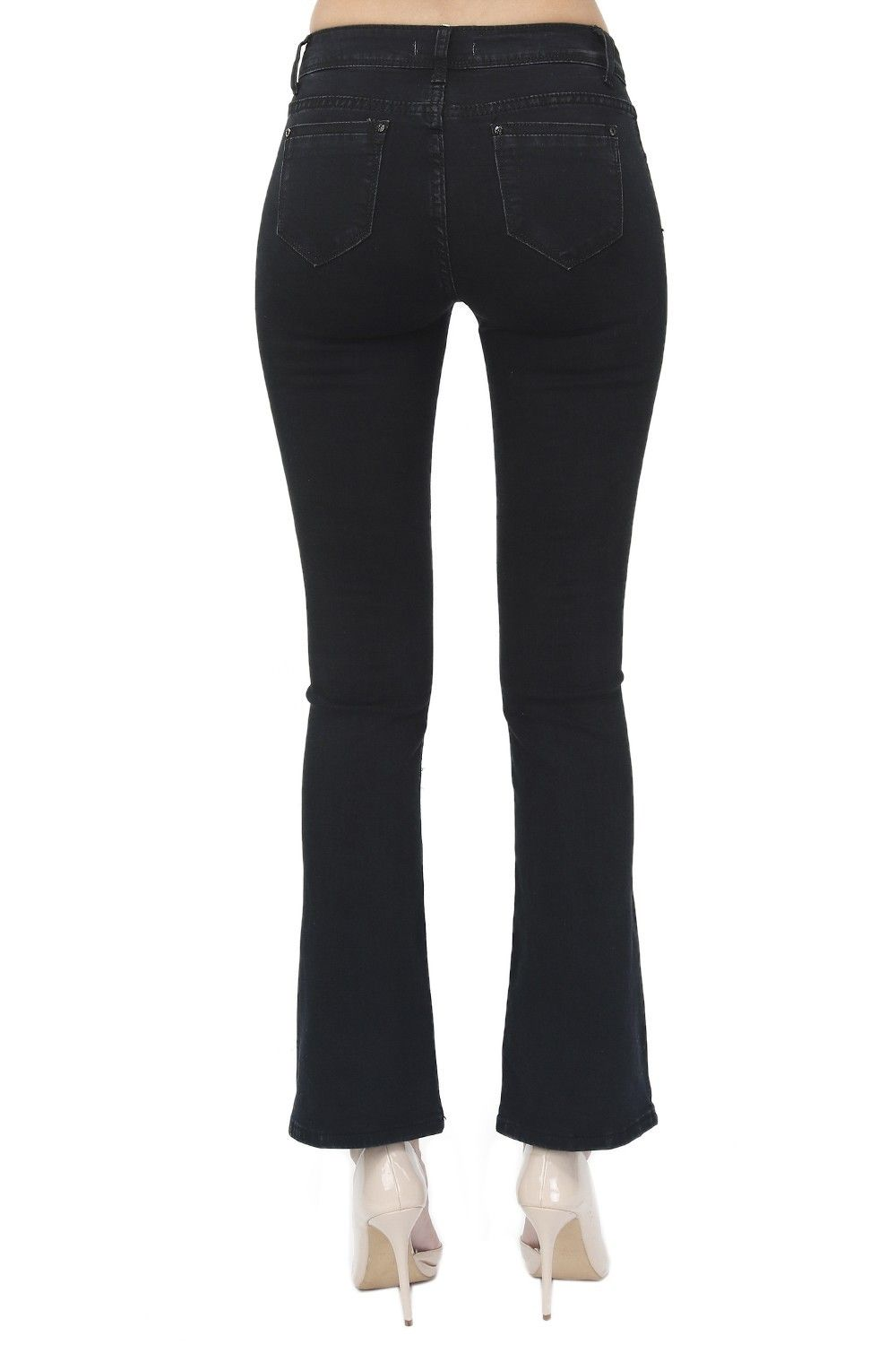 Assuili Wide-legged Jeans in Black