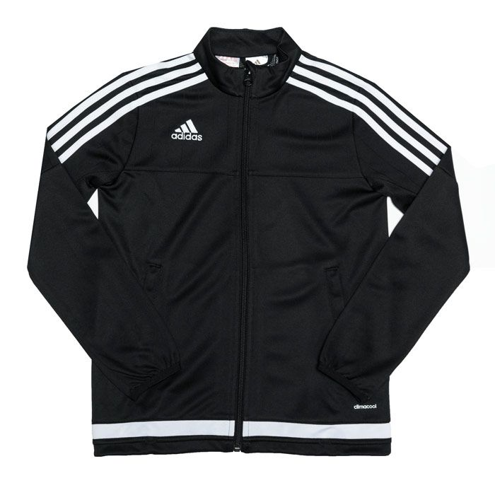 Boy's adidas Junior Tiro 15 Training Jacket in Black
