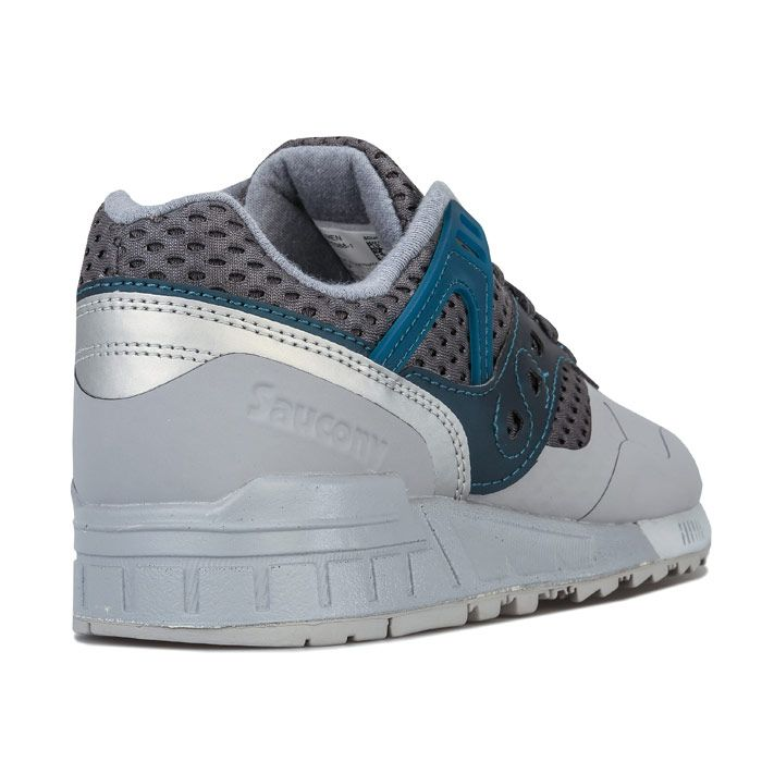 Men's Saucony Grid SD HT Trainers in Grey blue