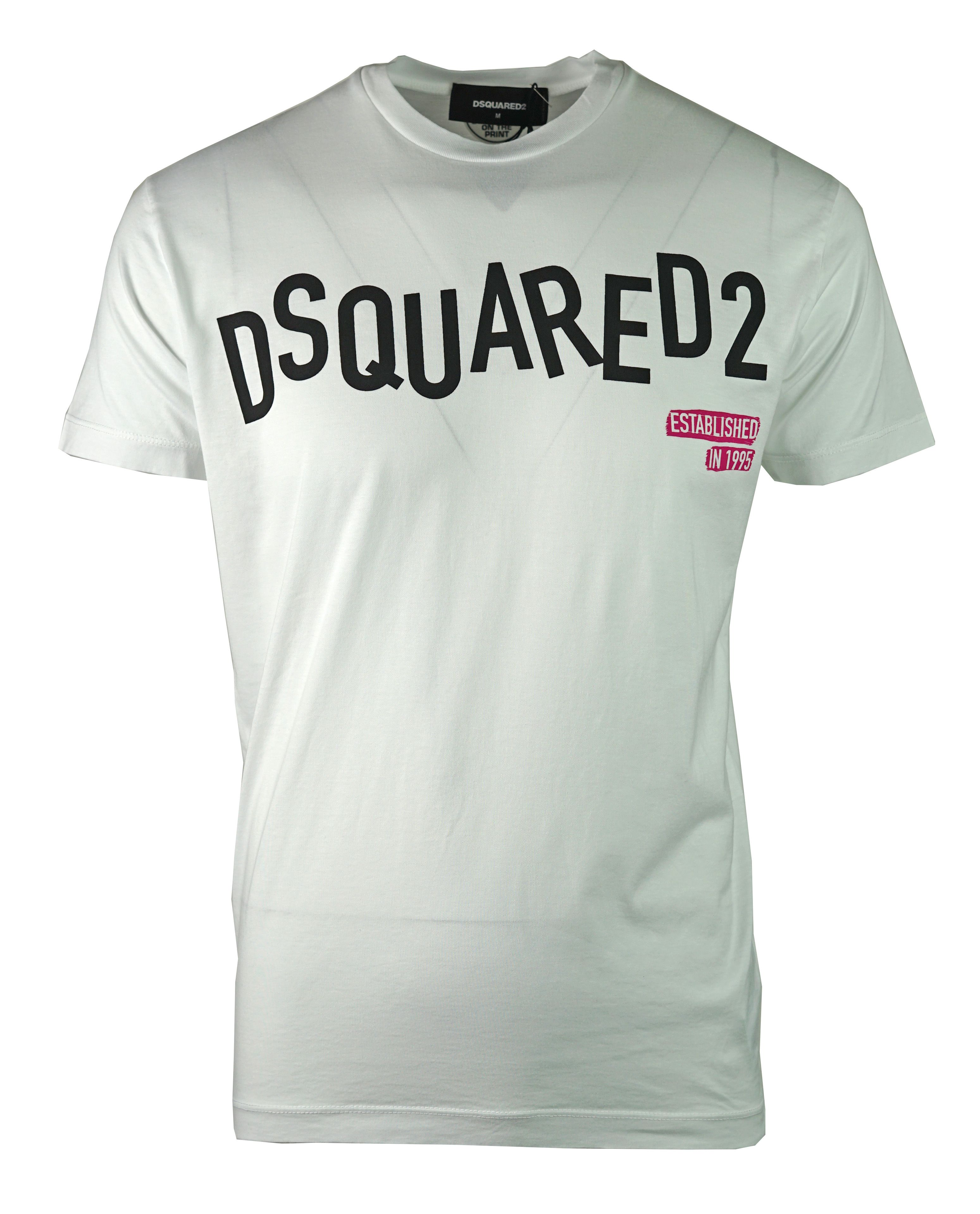 DSquared2 S74GD0501 S22427 100 T-Shirt