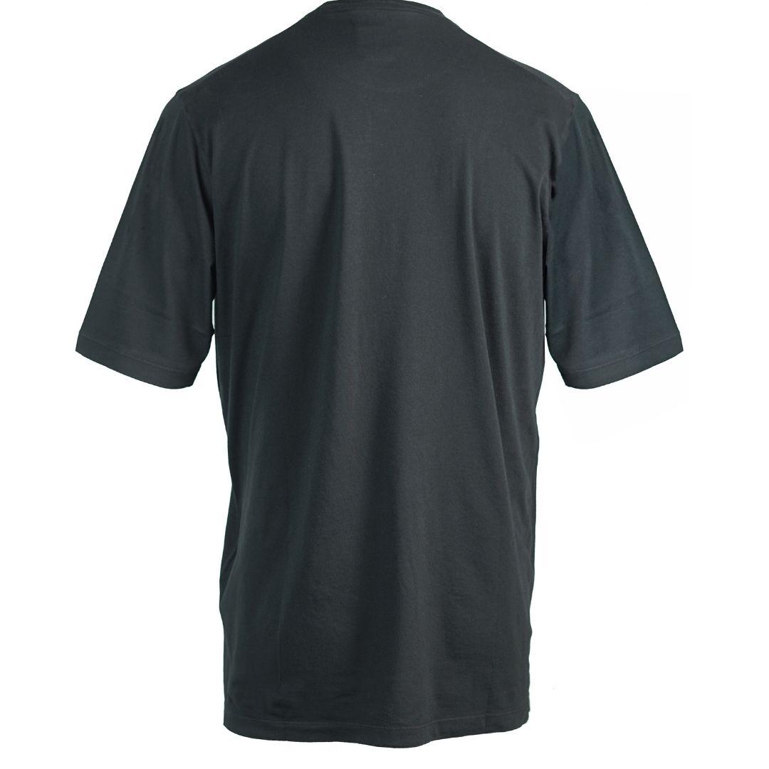 Dsquared2 Cut Logo Oversize Black T-Shirt