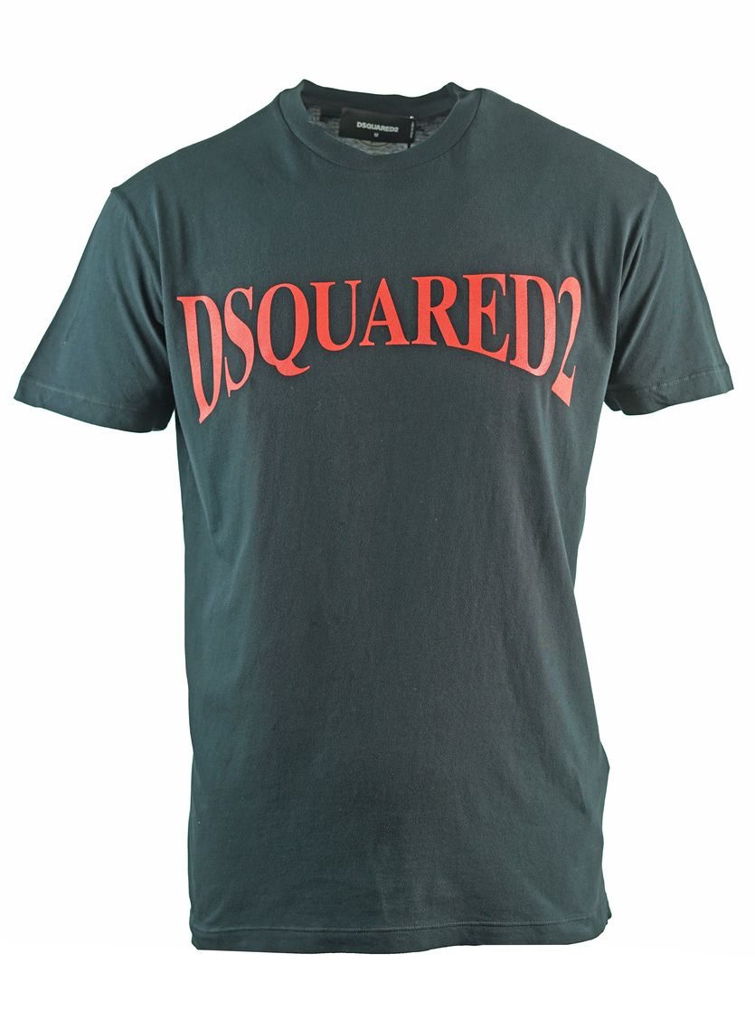 Dsquared2 Panoramic Logo Cool Fit Black T-Shirt