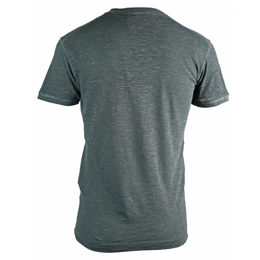 Dsquared2 Velvet Logo Grey T-Shirt